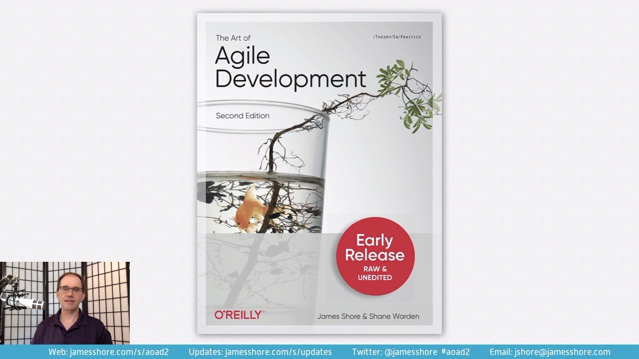 "Screenshot of ""The Art of Agile Development, Second Edition"" episode"